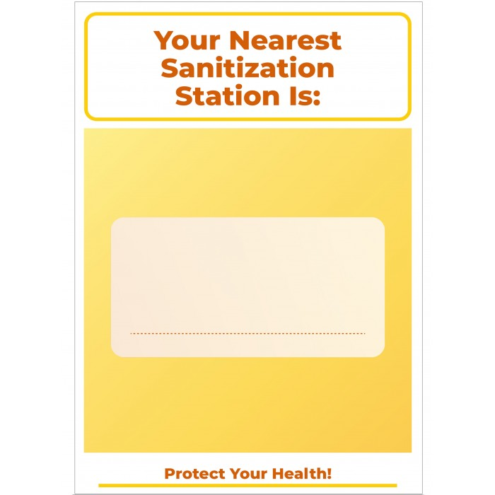 Covid 19 Posters - Your Nearest Sanitization Station Is