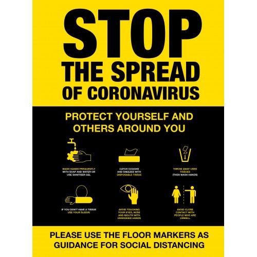 Covid 19 Posters - Stop the Spread of Coronavirus