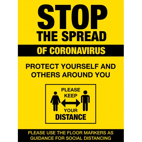 Covid 19 Posters - Stop the Spread of Coronavirus 2